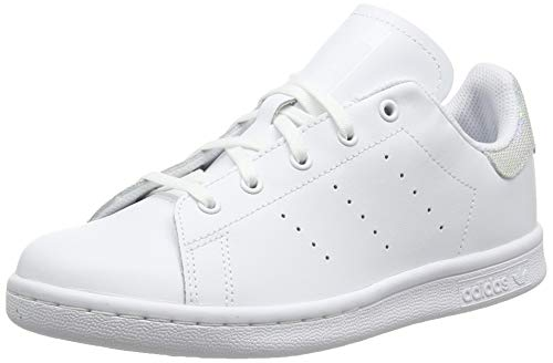 adidas Stan Smith C, Scarpe da Fitness Unisex-Bambini, Bianco (Blanco 000), 31 EU