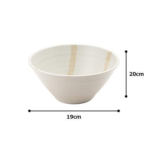 カクニ『美濃焼麺鉢しぶき(K80314)』