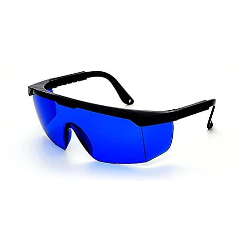 Pppby 1 par Gafas Protectoras UV Gafas de visión láser Gafas de protección contra la luz láser Depilación Tratamiento láser Protección Ocular