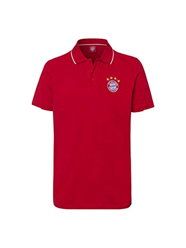 FC Bayern München Poloshirt Classic rot, L