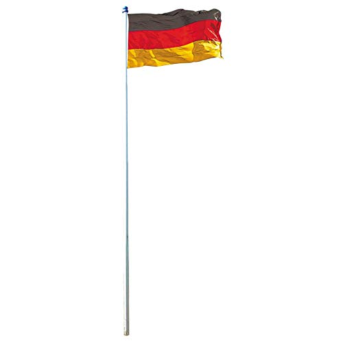 Mendler Fahnenmast inkl. Deutschlandfahne - 4m