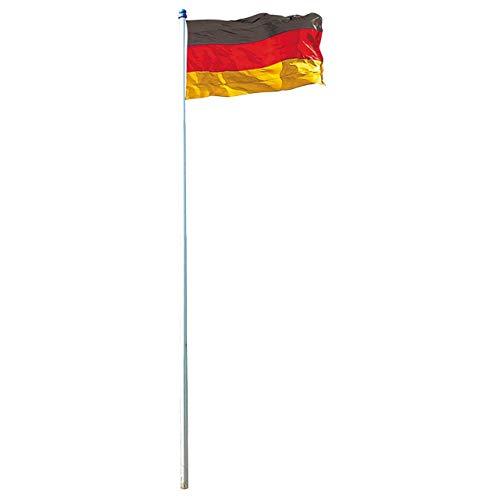 Mendler Fahnenmast inkl. Deutschlandfahne ~ 4m