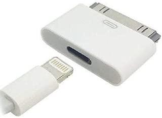 Access <Lightning 変換コネクタ > Lightning (メス) - iDock (オス) iPhone6からiphone4へ変換コネクタ 充電器 充電アダプター 8pin Lightning DOCK iphone6 /iphone5iPad mini iPod Lightning 30ピンアダプタ iphone4s/4 E-iP002A 8-30