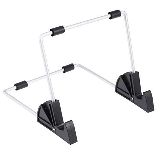Hemobllo Supporto per Tablet da Tavolo in Lega di Alluminio Supporto per Tablet Mani libere Tablet Desktop Pieghevole espositore Pieghevole per Kindle iPad