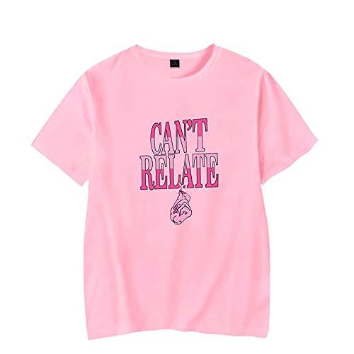 CCEE Camiseta Jeffree Star, Camiseta Informal De Verano con Estampado De Moda Harajuku, Camiseta De Manga Corta De Algodón Y Poliéster 2021, Suelta Unisex