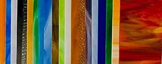 20 Sheets SPECTRUM & Wissmach Stained Glass (4