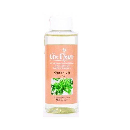 Aroma Japan Import Une Fleur Fragrance Oil Floral & Brend 100ml - Geranium (Harajuku Culture Pack)