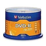 Verbatim Life Series DVD-R Disc Spindle, Pack of 50