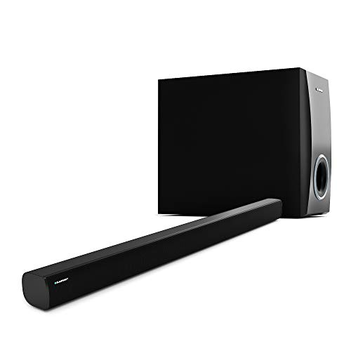 Blaupunkt SBWL02 130W Bluetooth Soundbar with Wireless Subwoofer, Super Bass with HDMI Arc