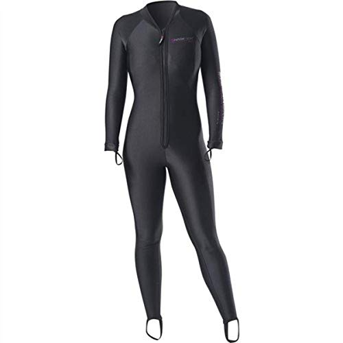 Sharkskin Chillproof ropa interior con cremallera frontal para mujer