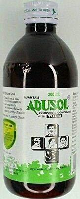 Ajanta, Adusol Ayurvedic Compound With Tulsi, 200 Milliliter(mL)