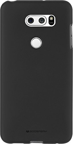 LG SF Jelly V30 Mobile Phone Cover (Black)
