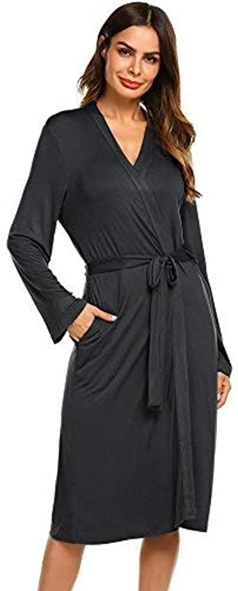 Ekouaer Maternity Robe 3 in 1 Labor Delivery Nursing Gown