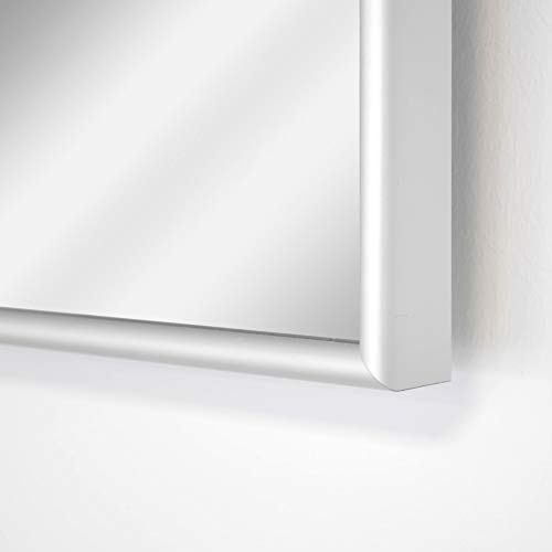 Spiegelheizung Infrarot 10 mm Alu-Rahmen 400 Watt VASNER Zipris S Flächenheizung Bild 4*