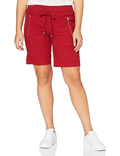 Street One 373281 Bonny Bermuda Loose Fit Pantalón, Vino Dulce, 38 para Mujer