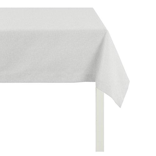 APELT Tischdecke, Polyester-Baumwolle, Weiß, 130 x 170 x 0.5 cm