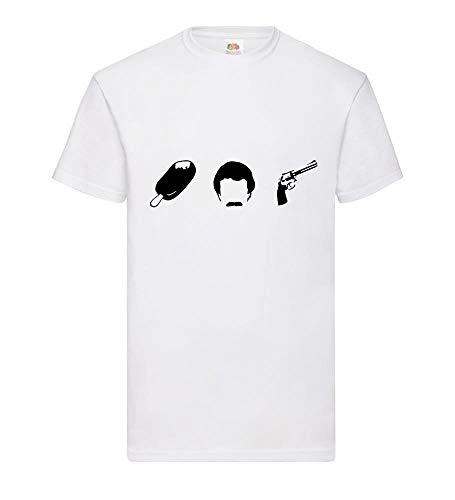Magnum - EIS Bart Revolver mannen T-shirt - shirt84.de