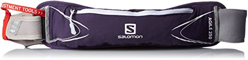 SALOMON Agile 250 Belt Set Purple Velvet/White Mochilas y Bolsillos, Unisex Adulto, Color Lila y Blanco, Uni