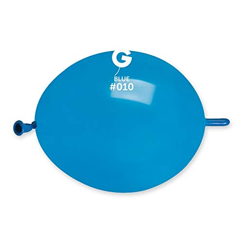 Gemar Palloncini Link O Loon Colore Blu Elettrico...