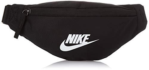 Nike Bolso de Hombro para Mujer Cv8964, Negro/Blanco, Talla única