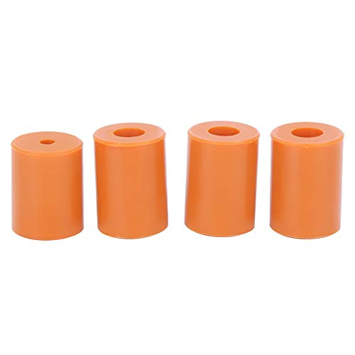 Buffer Leveling Columns, Silicone Leveling Column, Hot Bed Buffer Leveling, Leveling Columns for Ender-2, 4pcs Silicone Hot Bed Leveling Column Fit for 3D Printer Ender-2/Ender 3/Ender 3 pro/CR-10/10s