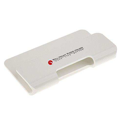 H HILABEE Soporte para Teléfono de Montaje en Pared Soporte Antideslizante Y Tiras Adhesivas para 6 7 8