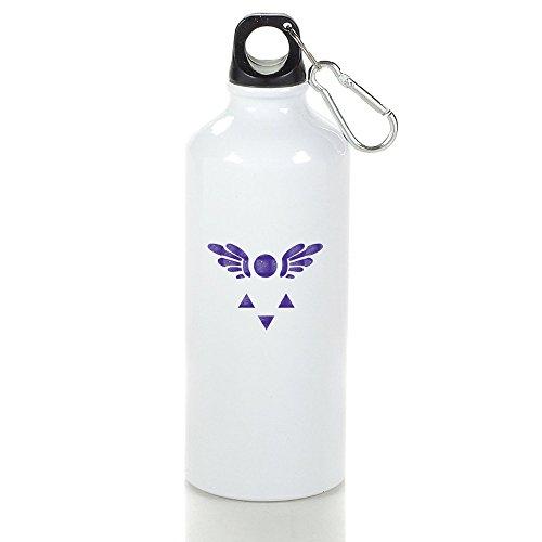 UNDERTALE símbolo Delta Rune Cool aluminio deportes botella de agua–400/500/600ml