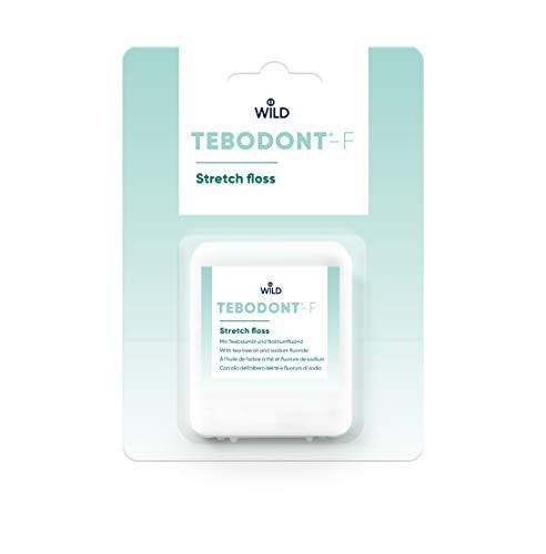 TEBODONT®-F Stretch Zahnfaden 50m (mit Fluorid)