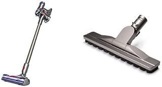 Dyson V8 Animal Cord Free Vacuum, Iron/Titanium & Dyson Articulating Hard Floor Tool