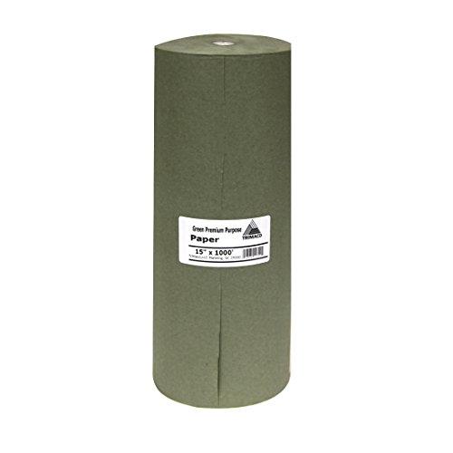 Trimaco Easy 15-inch x 1000-feet Green Premium Masking Paper