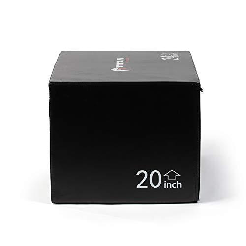 Titan Fitness Foam Plyometric Box 3 in 1 20