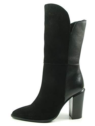 Bronx Bamericanax 14123-G Schuhe Damen Stiefel Ankle Boots Stiefeletten, Größe:40 EU, Farbe:Schwarz
