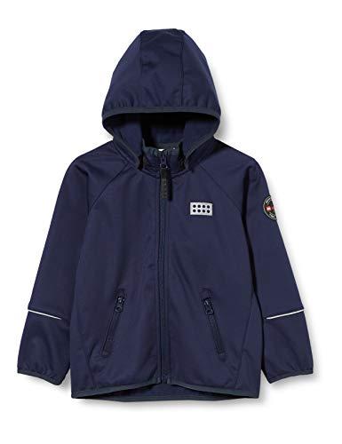 Lego Wear Jungen Lwsam Softshelljacke Jacke, Blau (Dark Navy 590), (Herstellergröße: 80)