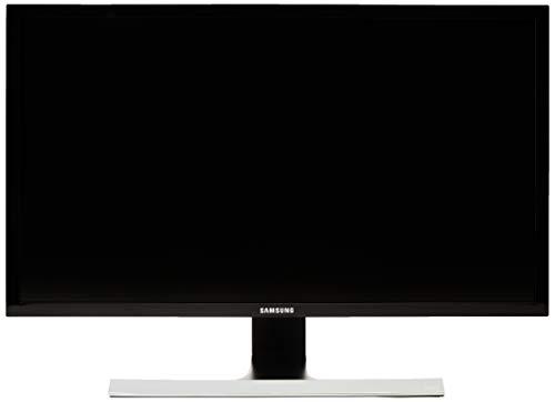 Samsung U28E570 - Monitor de 28'4K (3840x2160, 1 ms, 75 Hz, FreeSync, Flicker-Free, LED, 16:9, 1000:1, 370 cd/m², 170°, 2x HDMI, DisplayPort, Soporte VESA) Negro Metálico / Plata