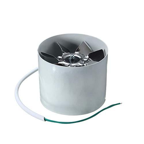 heacker 220V 4 Pulgadas línea de conductos de ventilación del Ventilador de Refuerzo 2800R / Min 20W Cocina Extractor Extractor de Aire del Ventilador