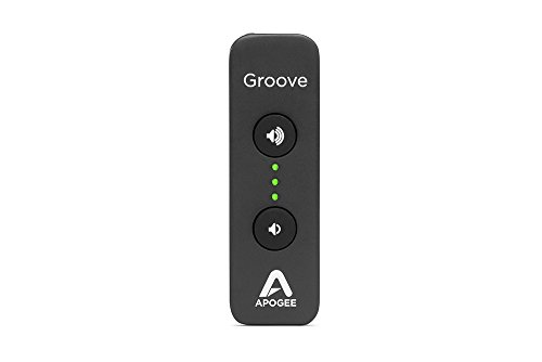 Apogee GROOVE - Portable USB Headphone Amp and DAC, Bus Powered for Mac and PC, Made in USA