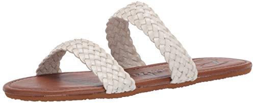 Billabong Women's Endless Summer Slide Sandal White 7/38