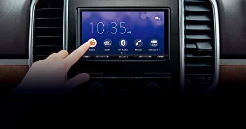 Sony XAV-AX5550ANT Media Receiver mit CarPlay, AndroidAuto, WebLink, DAB+, Premium 6,95 Display, Bluetooth