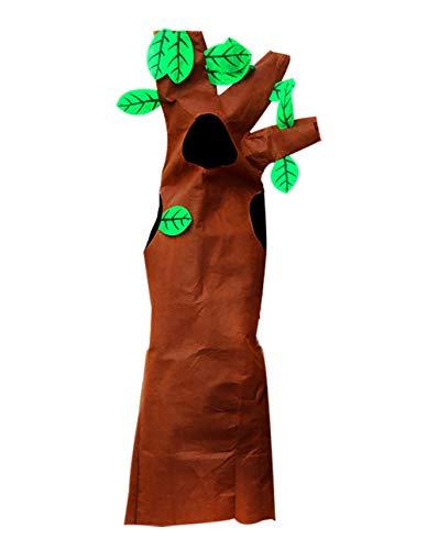 KRUIHAN Unisexo Adulto Halloween Árbol Disfraces - Niños Partido Fancy Dress Juego de rol Trajes (115-130cm)