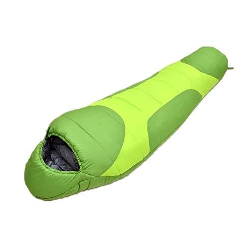 ZFFSC Slaapzak 0-15 Graden Celsius 4 Seizoen Rugzak Slaapzak voor volwassenen en kinderen Lichtgewicht Warm en Wasbaar voor Wandelen Reizen en es Camping Gear Apparatuur slaapzak