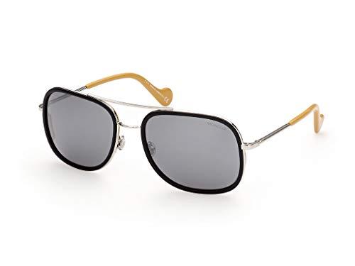 Moncler sonnenbrille ML0145 05C Schwarz-rauch-größe 61 mm Mann