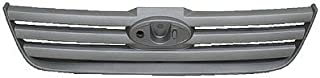 MAPM - FRONT UPPER GRILLE; SILVER PLATIUNUM FINISH; [FO] - FO1200539 FOR 2010-2012 Ford Transit Connect