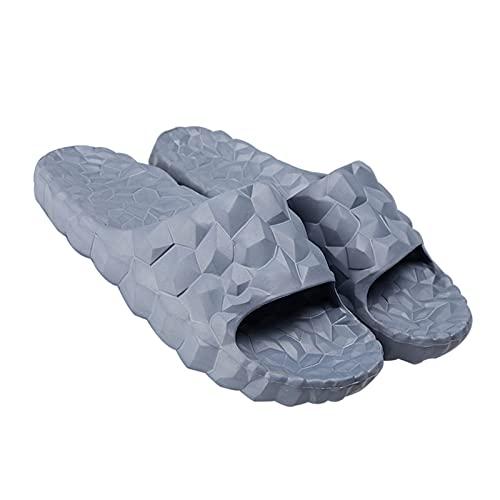 Zapatillas de casa de baño para mujer, para interior de masaje, reflexología de pies y masajeadores de acupresión, sandalias de ducha para hombres, puntera abierta, secado rápido, piscina gimnasio