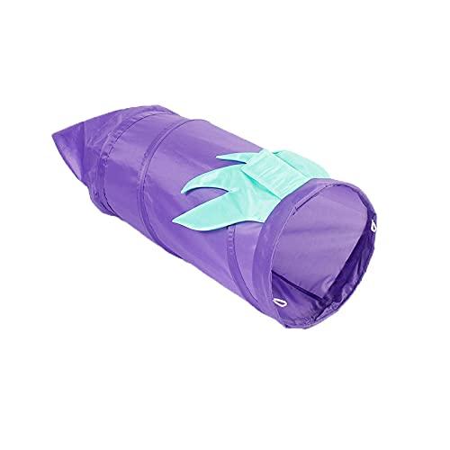 Nido De Gato, Túnel Plegable para Gatos Diseño de Vegetales Tubos para Gatos Juguetes Nido cálido para Gatos Fun Run Play Tunnels Mascotas Juguete Interactivo para