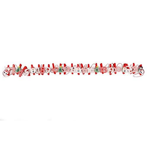 Europalms Baies Guirlande Rouge 180 cm