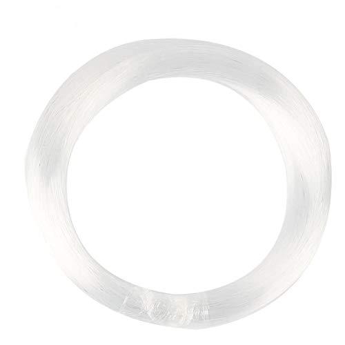 JennyHedy Φ0.03in (0.75mm) 656ft (200M) / rouleau PMMA En Plastique Fibre Optique Câble Fin Lumineux Pour Star Sky Plafonnier Sensory et Divers Conducteurs De Moteur De Lumière LED