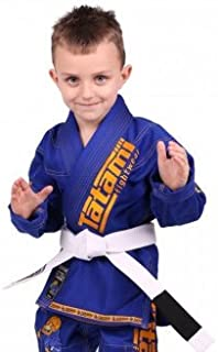 Kids Blue Animal Ju Jitsu Gi - W/Free White Belt