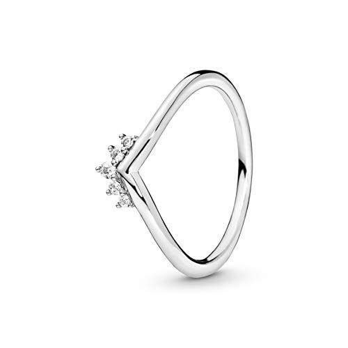 Pandora Damen-Stapelring 925_Sterling_Silber mit '- Ringgröße 50 198282CZ-50