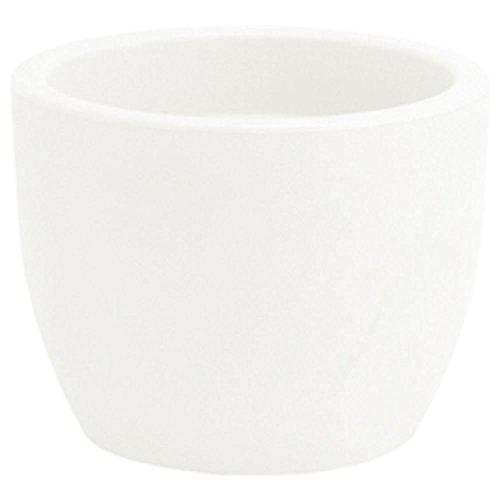 hydroflora 63001405–Vaso Nicoli Hera, Bianco, 30x 30x 23cm