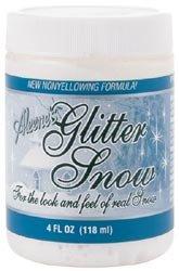 Aleene's Adhesives Bulk Buy Duncan Crafts Snow Glitter Paint 4 Ounces SP408 (3-Pack)